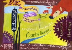 Combe Haven defenders camp