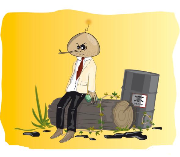 polluting pinnochio