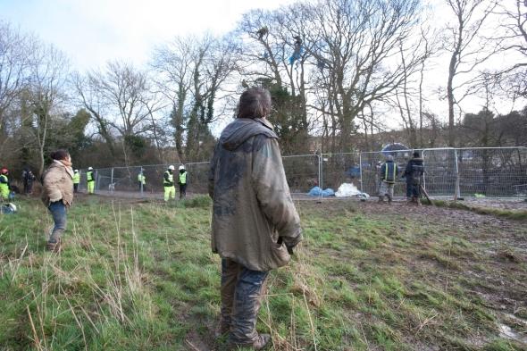Decoy Camp eviction, 30-01-2013. Photo copyright Adrian Arbib, www.arbib.org