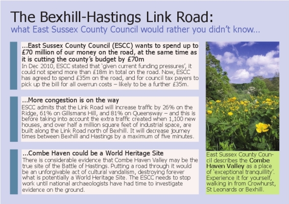 Bexhill-Hastings A5 leaflet