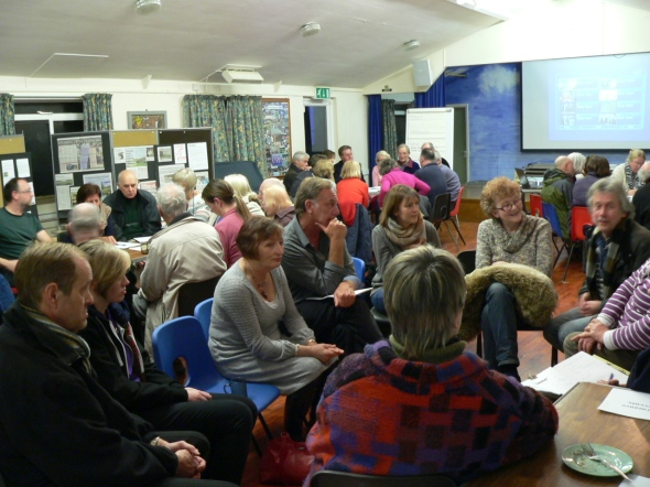Pic from the 9 February Crowhurst meeting.