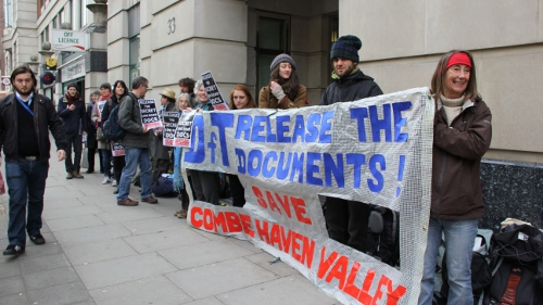 Document searchers outside the DfT