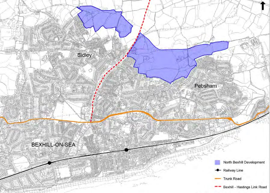 development area from rother local plan 2006