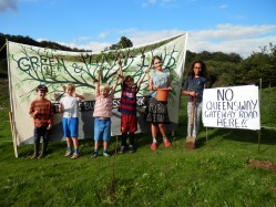 Young campaigners ready to plant trees in Hollington Valley