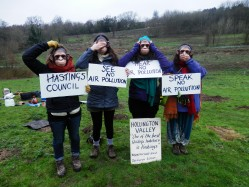 Hollington Valley: See no air pollution, speak no air pollution, hear no air pollution