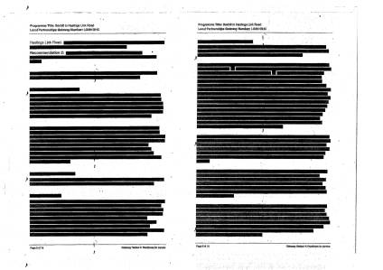 BHLR assurance review redacted document